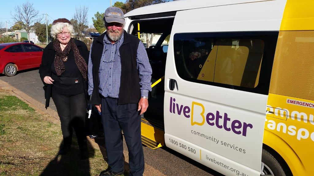 older people using bus service
