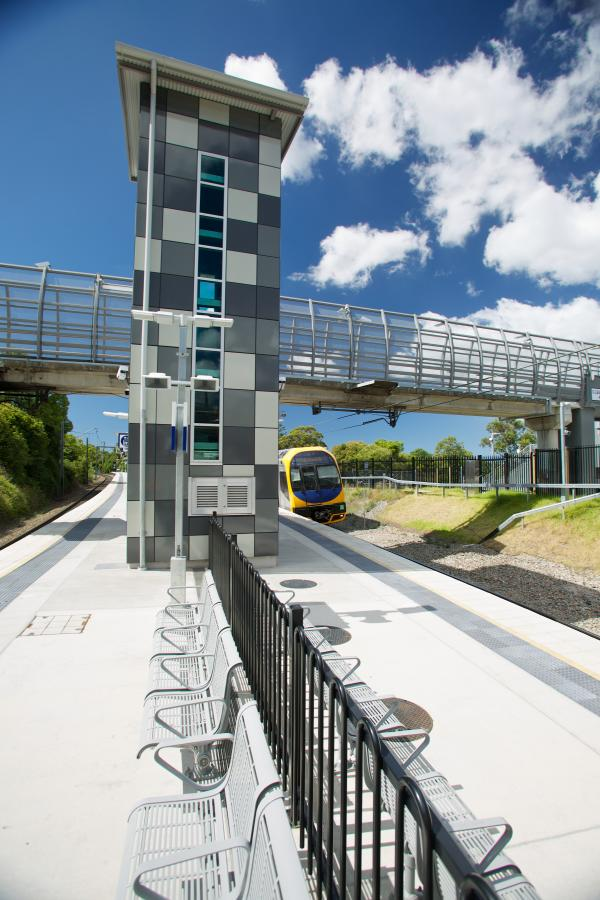 Figure 45 Cardiff station upgrades completed as part of the Transport Access Program