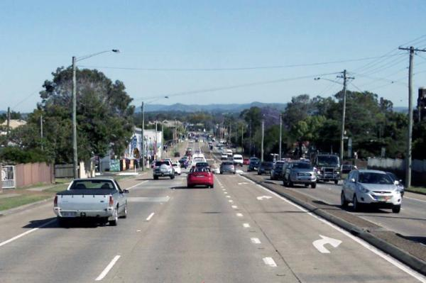 Figure 50 New England Highway, East Maitland