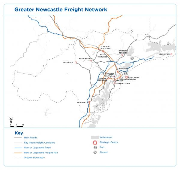 Figure 51 Freight network